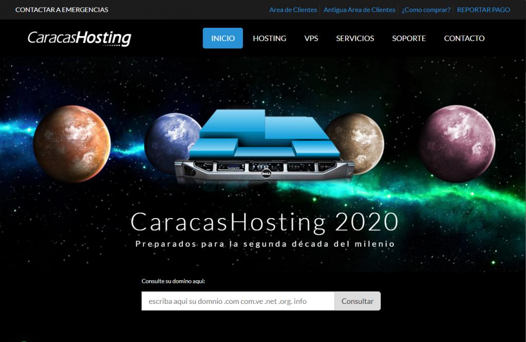Hosting caracas